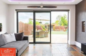 air 800 bifold door indoors