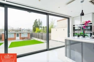 Bowalker lift and slide doors from inside