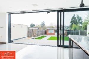 Bowalker doors air lift and slide from inside