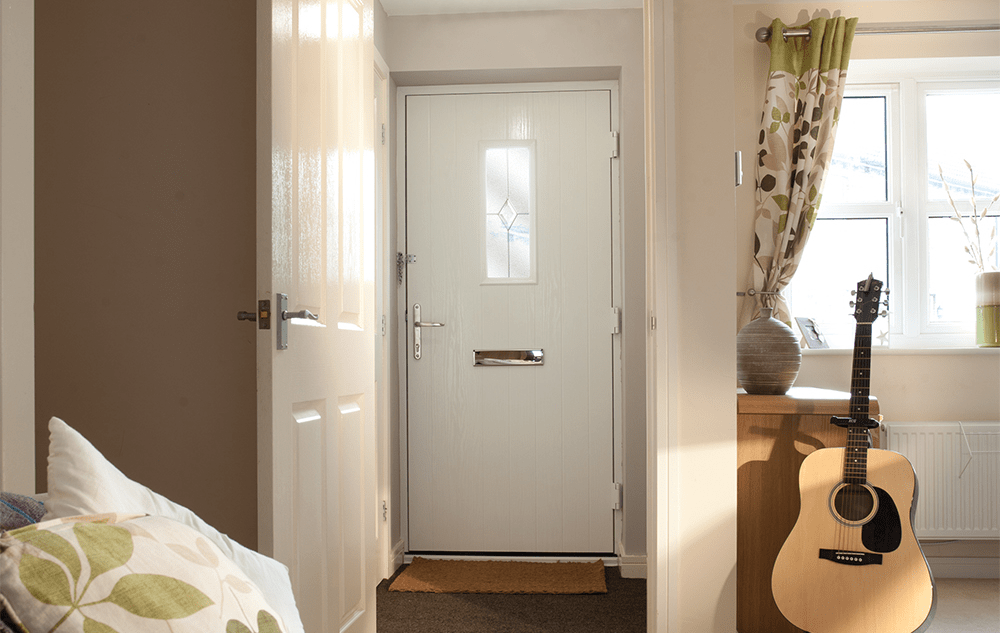 Insulated composite entrance door Lewes