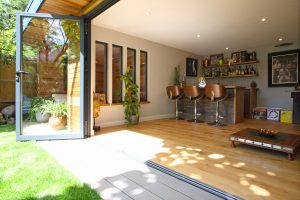 Bowalker air bifold doors for Bighton renovation