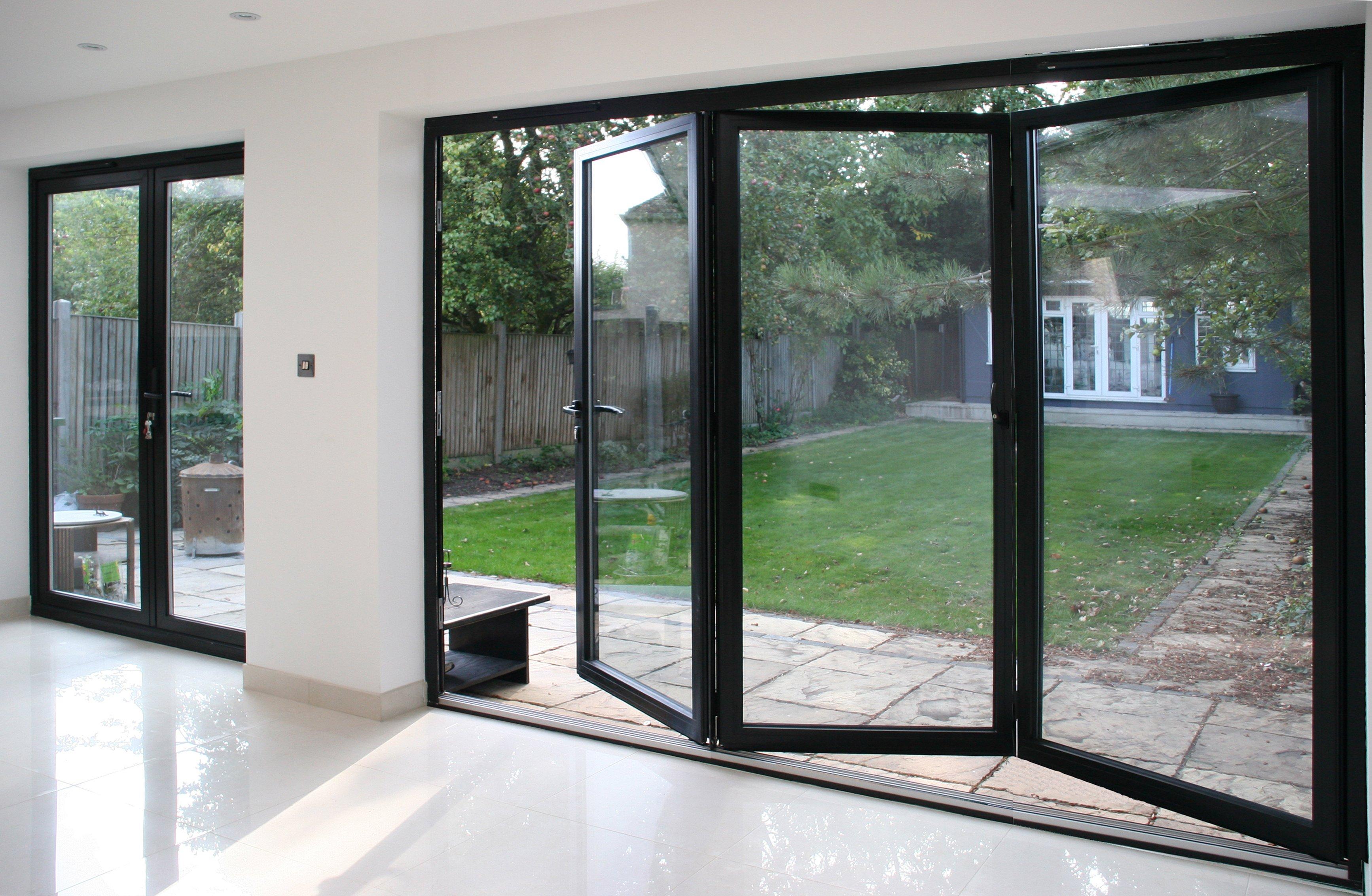 Aluminium Bifold Doors Bowalker Doors Crawley
