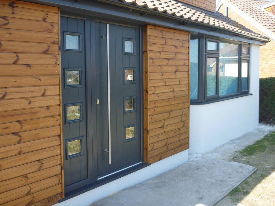 Anthracite Grey Composite Door Hove Bowalker Doors