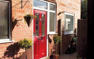 Berry Red Composite Door Hove Bowalker Doors
