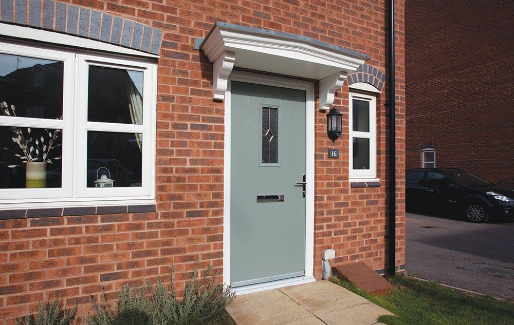 Chartwell green composite door Bowalker Doors Hove