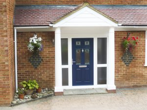 Coloured composite doors Bowalker Doors Hove