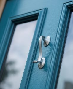 Coloured composite doors from Bowalker Doors in Hove