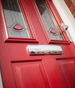 Red composite door Bowalker Doors Hove