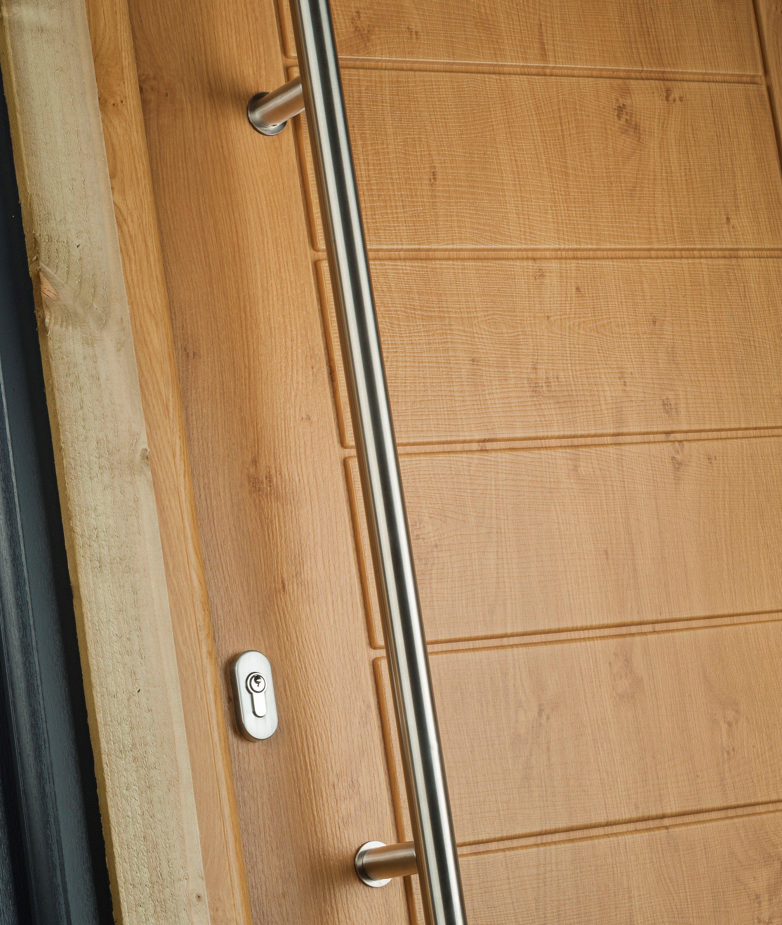 Woodrgrain composite doors Bowalker Doors Hove