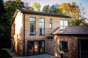 Bowalker air bifold doors for kitchen extensions