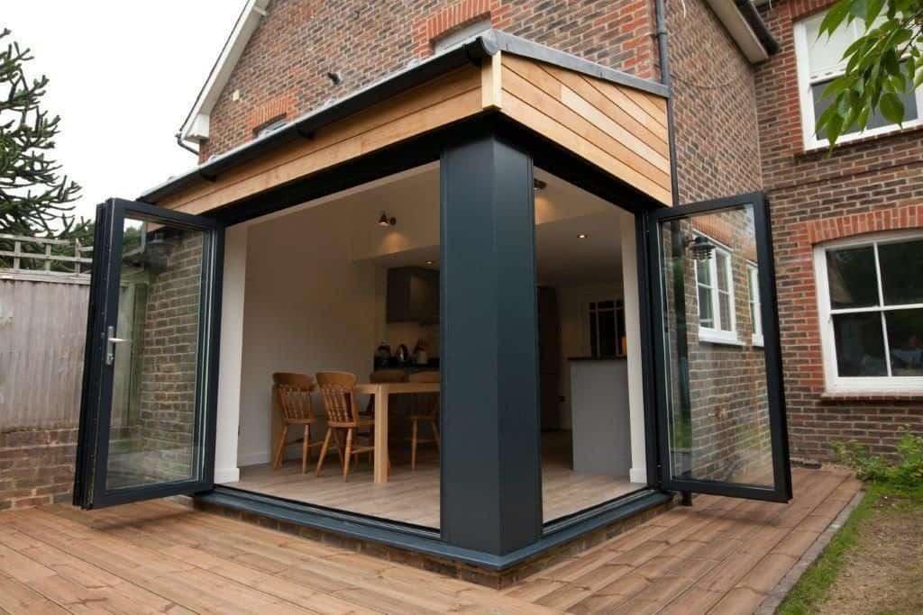 Bifold door extension