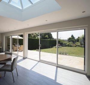 Aluminium sliding doors Sussex Surrey
