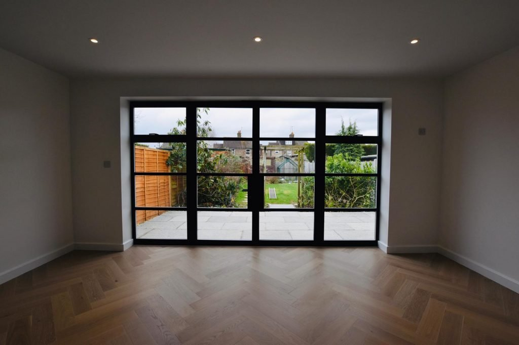 Black bifold doors Sussex Surrey