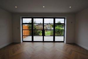Black bifold doors Sussex Surrey
