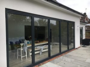 Air 800 bifold doors Bowalker Doors for Brighton renovations