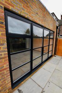 Heritage aluminium bifold doors