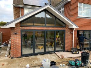 Bowalker Air 800 Bifold With Alitherm 300 Windows