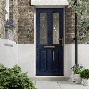 Blue Kara scaled Hallmark door